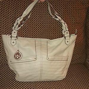 Cream colored Relic handbag